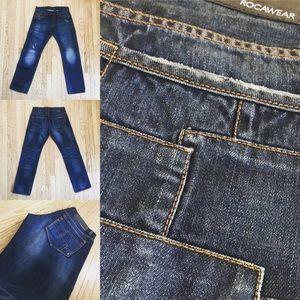 Rare Rocawear Patched Jeans